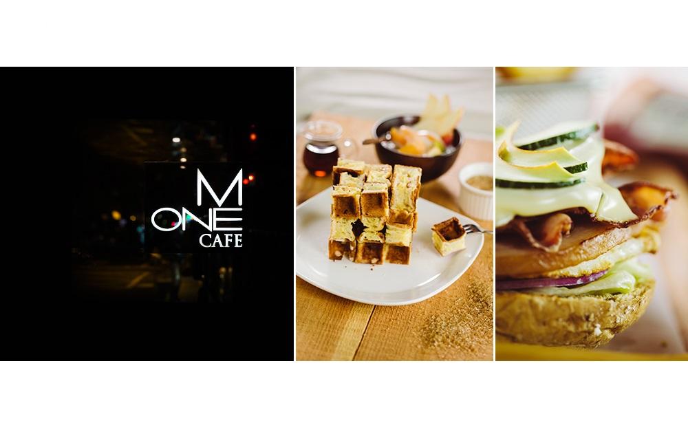 m one cafe 酪梨培根起司堡
