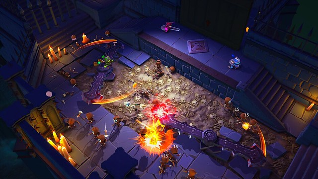 Super Dungeon Bros выйдет на PlayStation 4