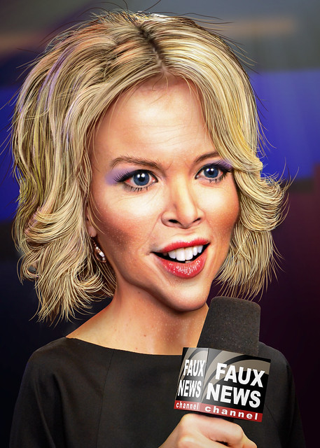 Megyn Kelly - Caricature from Flickr via Wylio