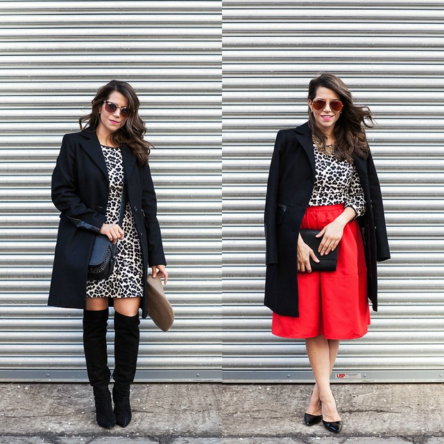leopard dress_two ways