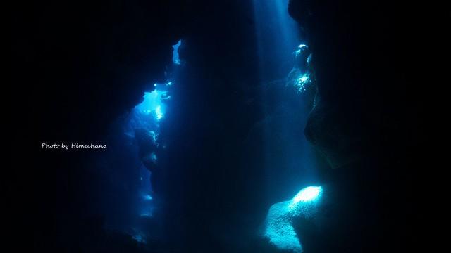初めての洞窟でしたがめちゃくちゃ光量多い!w