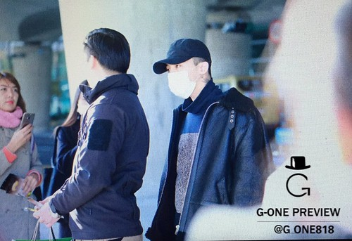 Big Bang - Incheon Airport - 07dec2015 - G-One - 01
