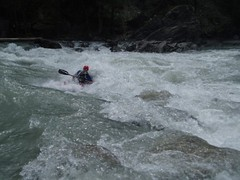 Greg surfing the Rabioux Rapid Image