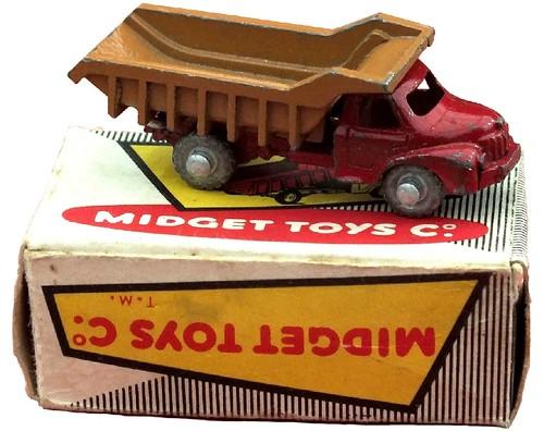 Midget toys Berliet dumper
