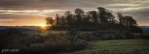 morning england panorama sunrise landscape unitedkingdom sony stitched castlehill stiching wittenhamclumps littlewittenham a99 sonyalpha andyhough slta99v andyhoughphotography tamronsp70200di