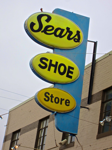 Fort Oglethorpe (GA) United States Picture : Sears Shoe Store, Fort Oglethorpe, GA