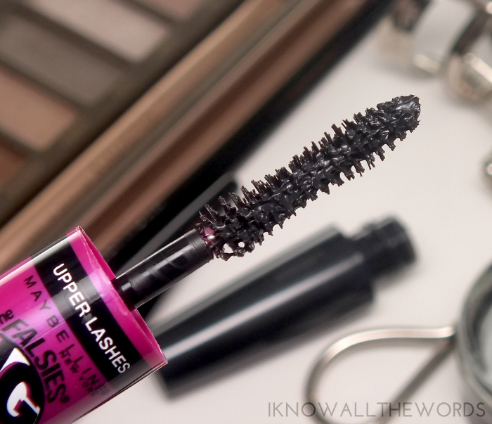 maybelline the falsies big eyes mascara- upper brush