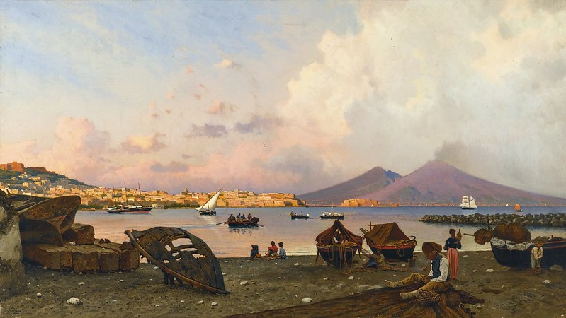 Federico Nerly - The Bay of Naples