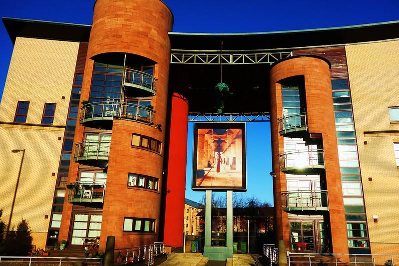 Gorbals Architecture, Glasgow, Scotland