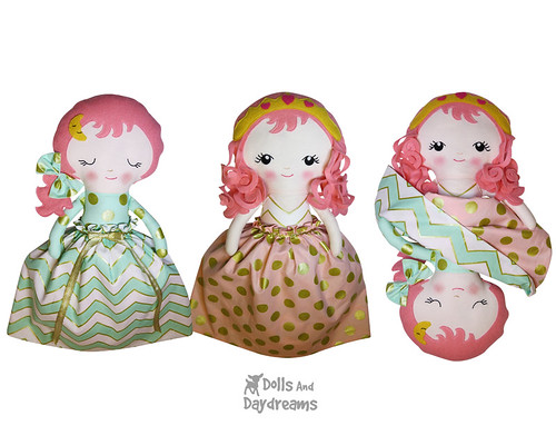 Sleeping Beauty Topsy Turvy Doll Pattern