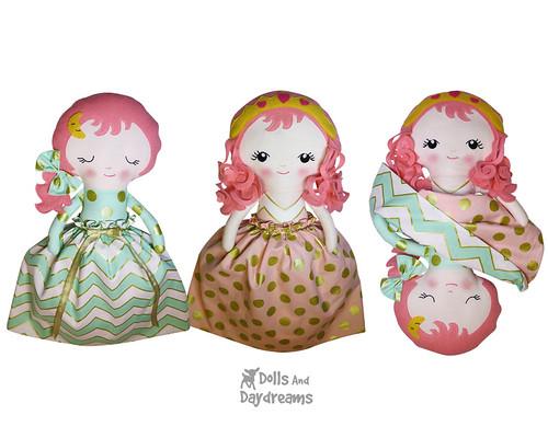 Sleeping Beauty Topsy Turvy Doll Pattern