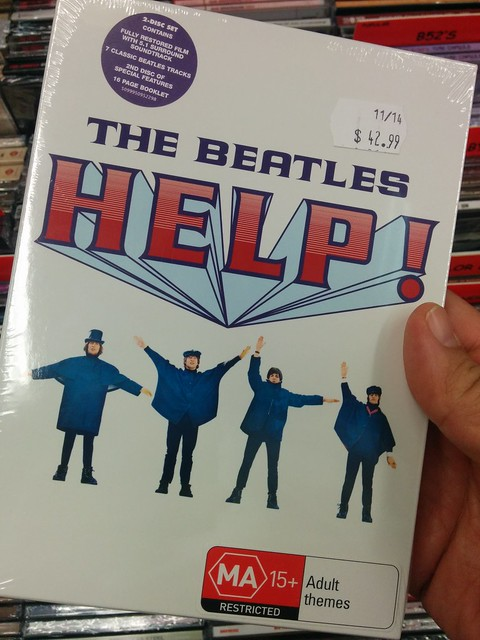 "The Beatles ""Help"" - rated MA?!"