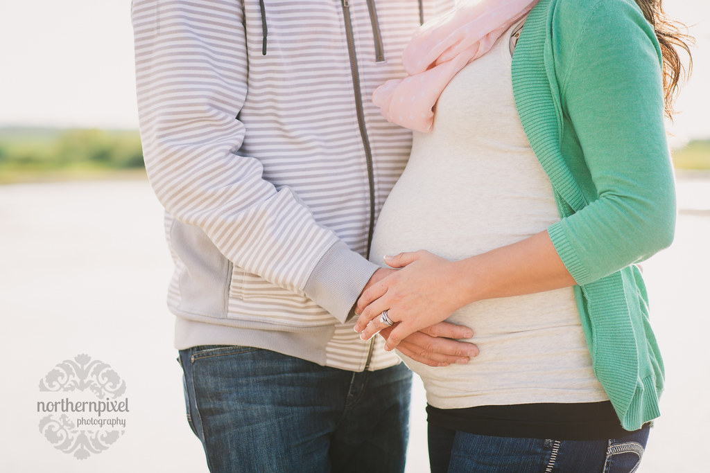 Ashley & Chris - Vanderhoof BC Maternity Photography Session