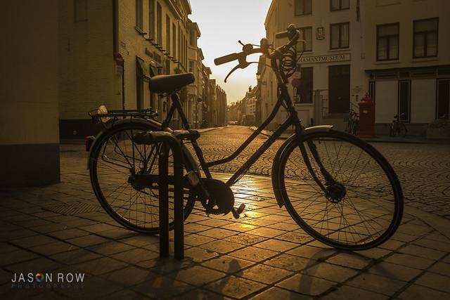 Early Monring in Bruges