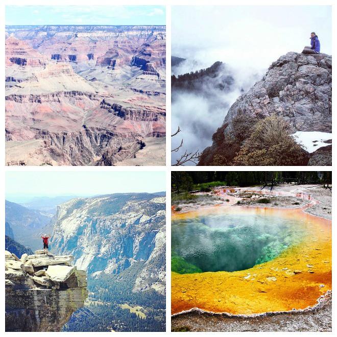 Maailmanperintökohteet: Yhdysvaltojen kansallispuistot