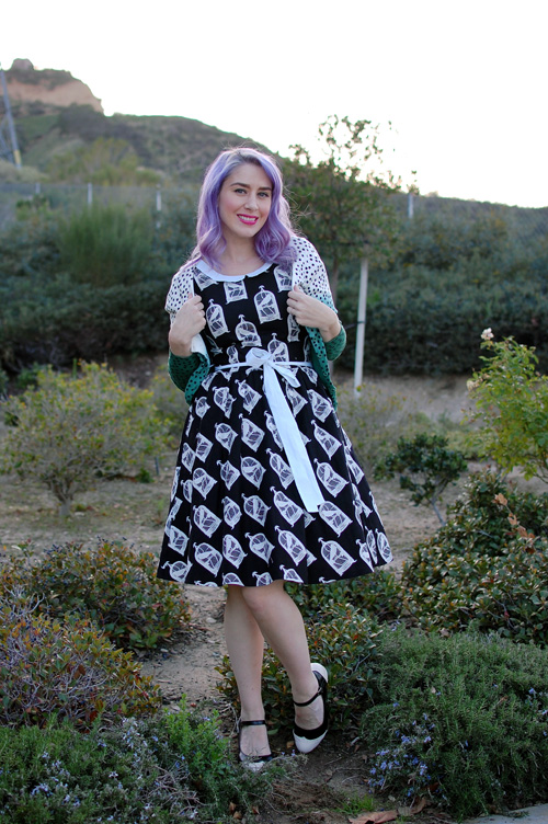 Modcloth All Eyes On Unique dress in Birdcage