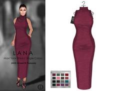 Hilly Haalan - Lana Maxi Tank Dress Single Colors