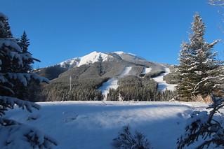 Nakiska ski hill kananaskis Alberta Canada home of the 1988 winter olympics