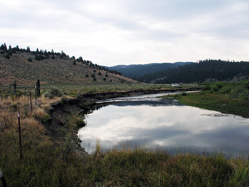 The Paisley Ranger District of the Fremont-Winema National Forest in Oregon worked with numerous partners to complete a large-scale multi-year restoration project that covered 15 miles of the Chewaucan River.  The project included adding vegetation to eroding stream banks. (U.S. Forest Service)
