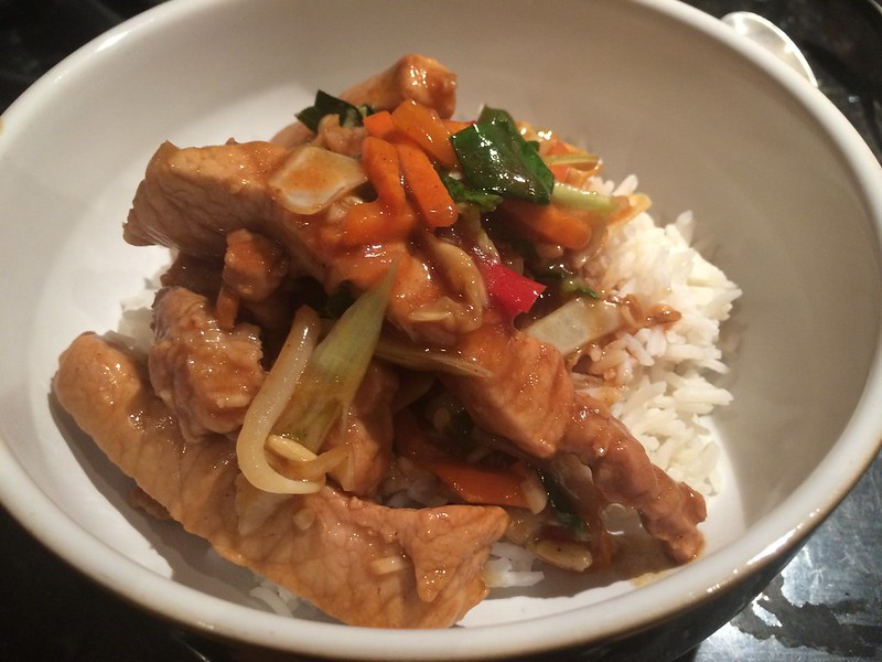 Chinese Stir Fried Pork with Oyster sauce : Another