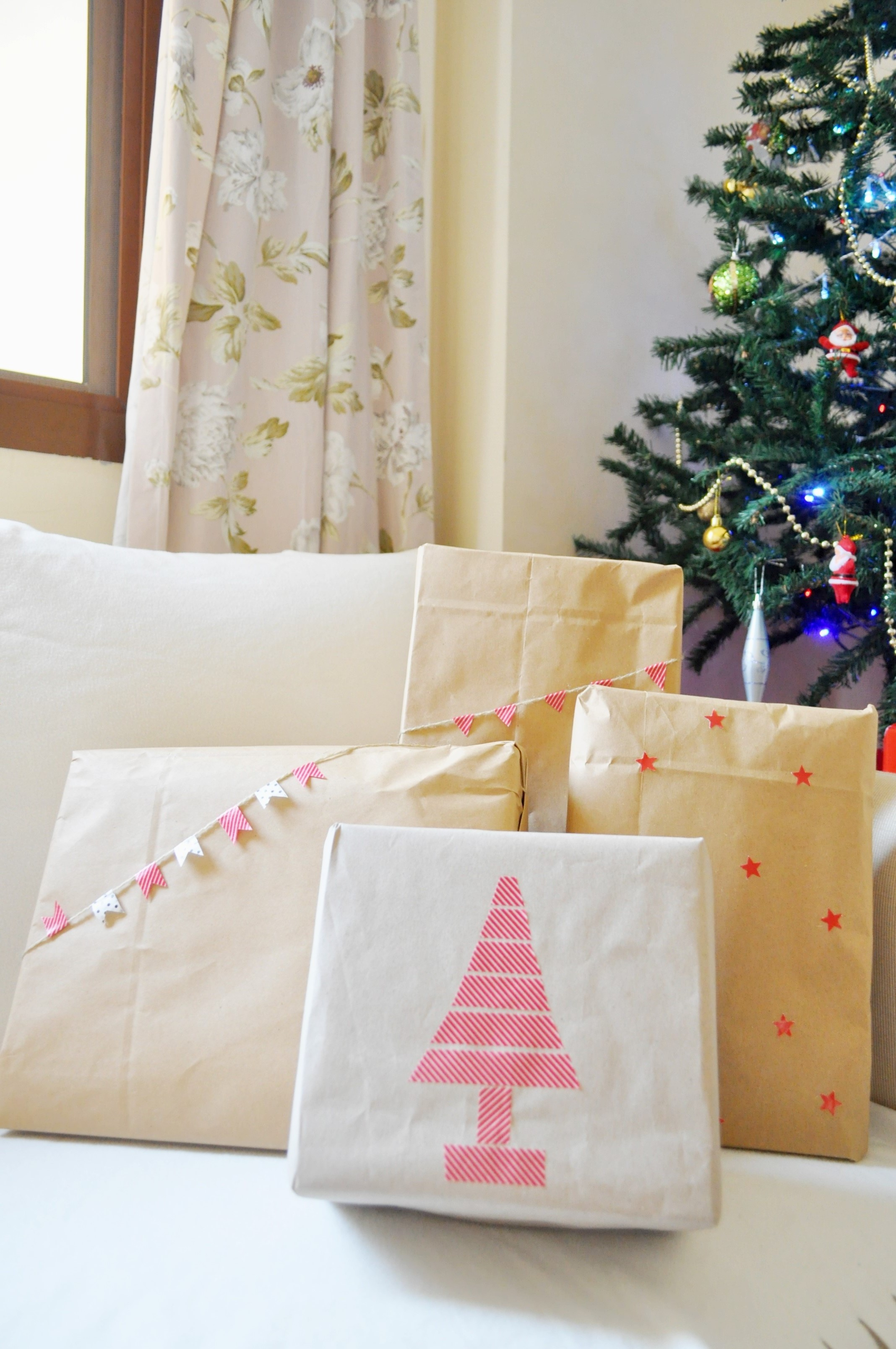 christmas gift wrap diy (2)