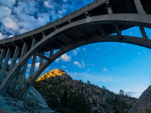 bridge clouds sierranevada rainbowbridge donner truckee donnersummitbridge