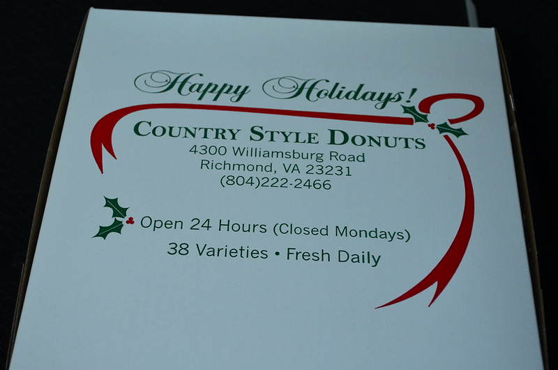 Happy Holidays from Country Style Donuts