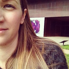de Young selfie. (Not de Old selfie.)