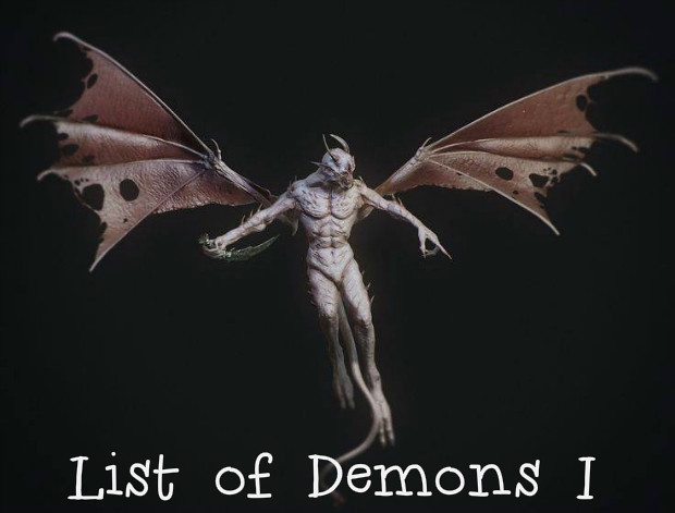 List of Demons I