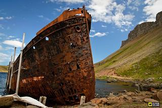 Ship Wreck in Djupavik - Westfjords