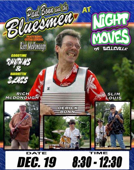 The Bluesmen 12-19-14
