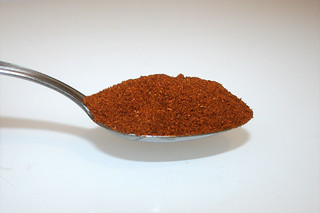 07 - Zutat Chilipulver / Ingredient chili powder