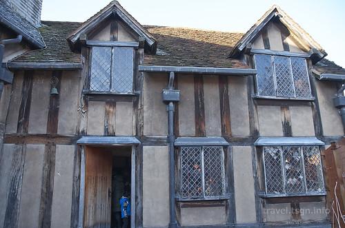 【写真】世界一周 : シェイクスピアの生家