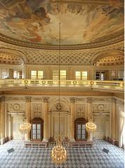 grand ballroom at the Monnaie de Paris