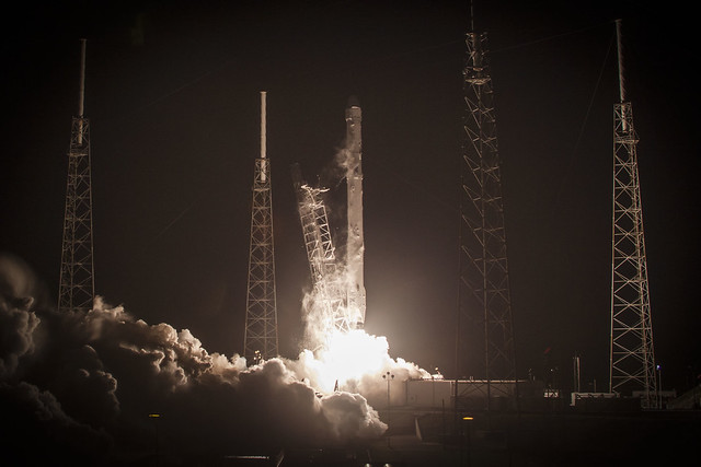 spacex, falcon9, rocket, dragon, spacecraft