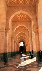 Casablanca, Morocco Archways Hassan II Mosque