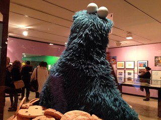 New York Public Library: Cookie Monster