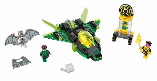LEGO DC Super Heroes 76025 Green Lantern vs. Sinestro 00