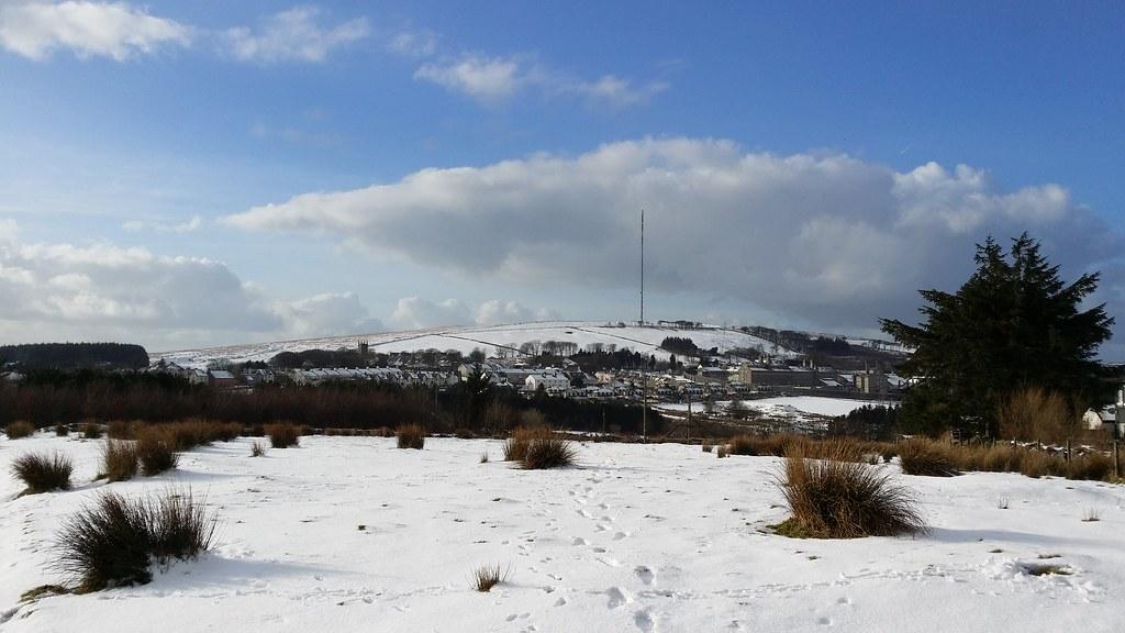 Snowy Princetown #sh #dartmoor