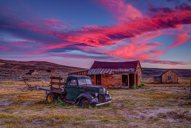 Bodie Sunset Re-edit with HDR