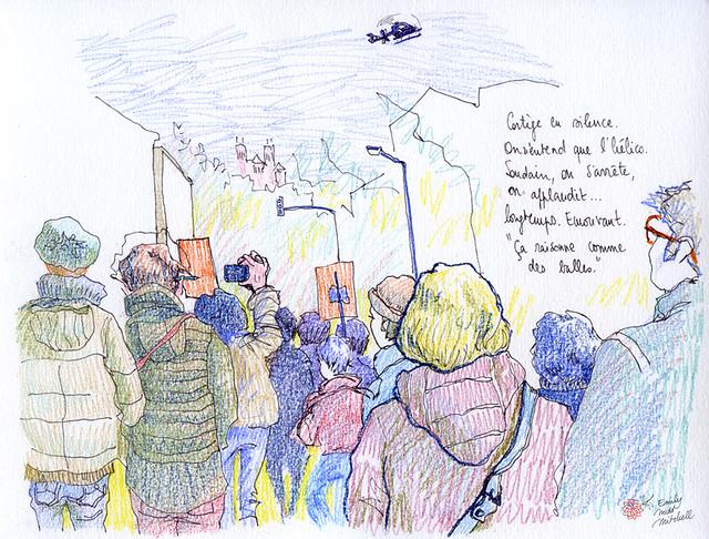 JeSuisCharlie - La marche de Lyon - Emily Nudd-Mitchell