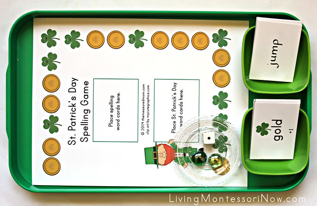 St Patrick's Day Spelling Game