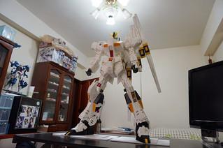 【玩具人小鬼隊長投稿】紙模型投稿(RX-93 NU EVO H.W.S)