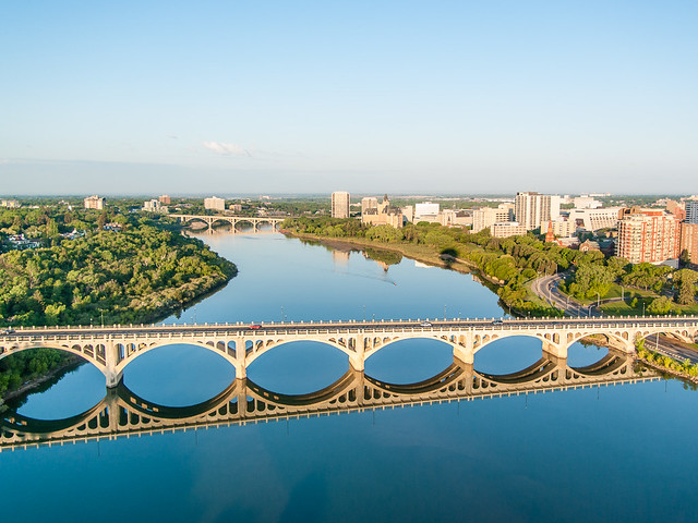 Saskatoon by hot air balloon