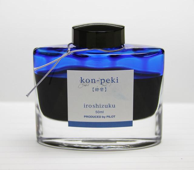 Ink Shot Review Pilot Iroshizuku Kon-Peki @PilotPenUSA (2)