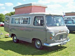537 Morris Commercial J4 Camper Van (1962)