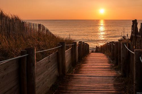 france de soleil coucher
