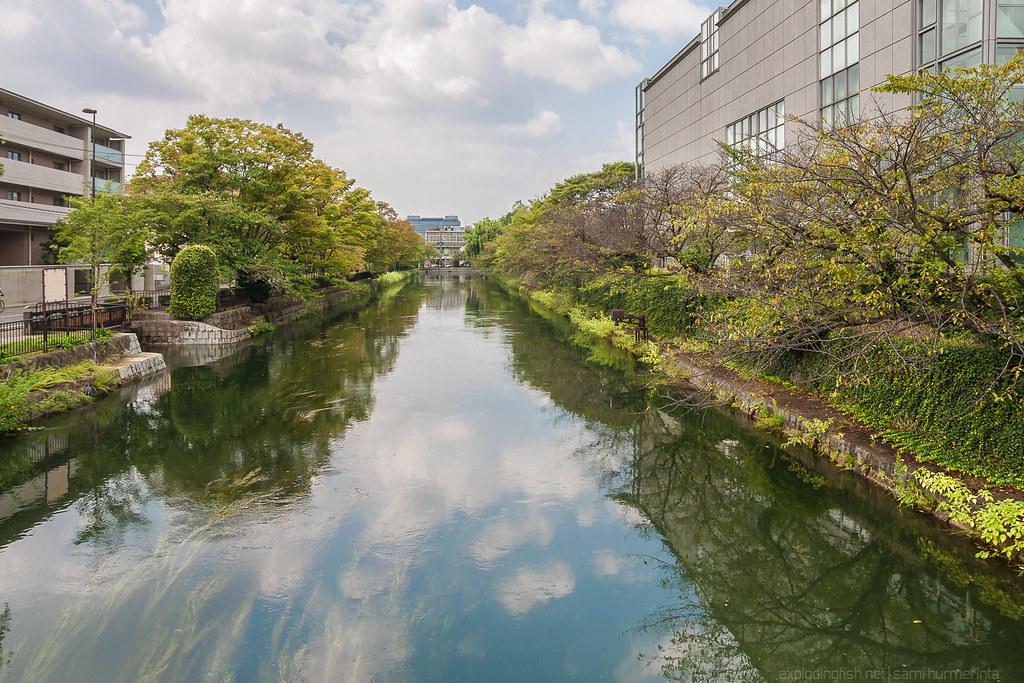 Okazaki Canal in Autumn