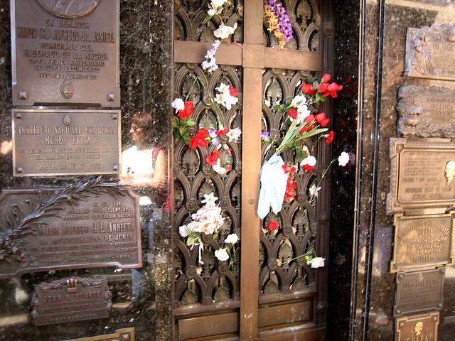Cementerio La Recoleta Tumba Evita