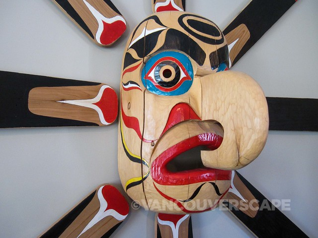 Fraser River Lodge Native Art carved by Don Froese